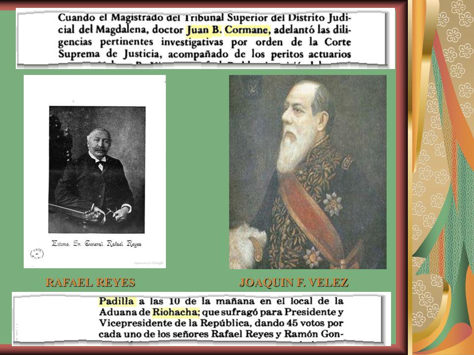 Entonces el lírida Gnecco Coronado leyó el siguiente soneto: El Excelentísimo General Rafael Reyes Hoy que la Patria arrepentida llora su pasado de errores y lozano, se alza en el valle, en la ciudad y el llano, el árbol de la paz fecundadora.