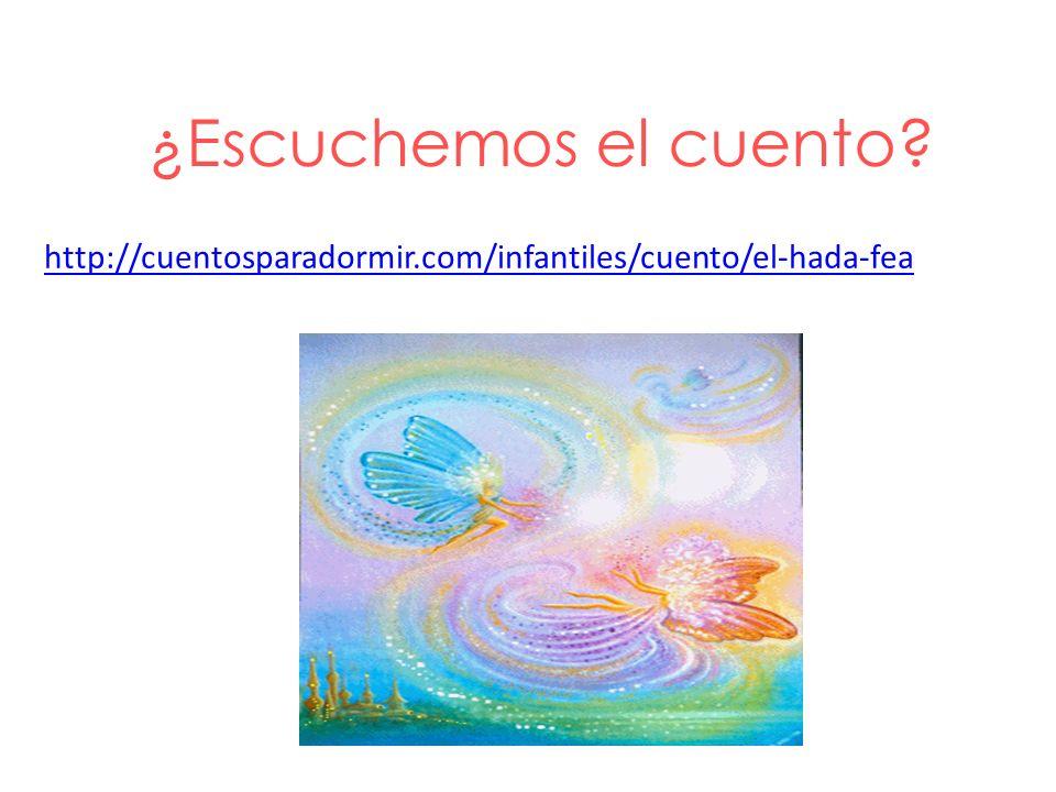 ¿Escuchemos el cuento? http://cuentosparadormir.com/infantiles/cuento/el-hada-fea
