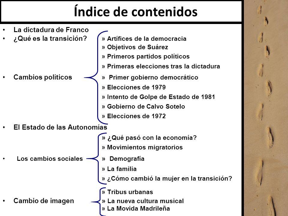 c La dictadura de Franco (1939-1975) Francisco Franco se nombra Jefe de Estado vitalicio.