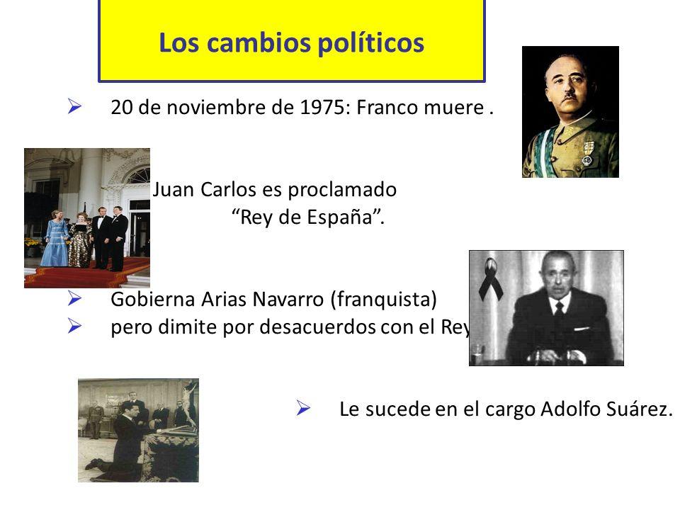 Los artífices de la Democracia Político reformista.
