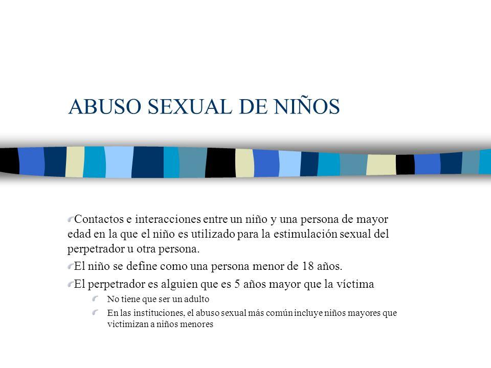 EVIDENCIA DE NIÑOS VÍCTIMAS DE NEGLIGENCIA A.