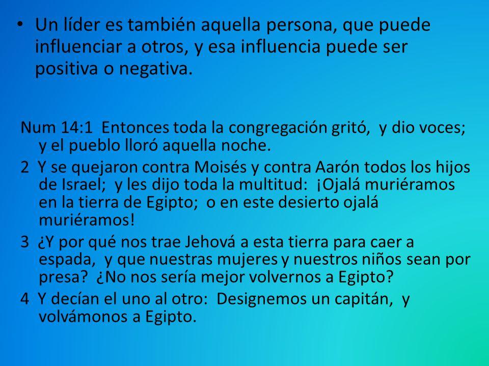Num 14:1 Entonces toda la congregación gritó, y dio voces; y el pueblo lloró aquella noche. 2 Y se quejaron contra Moisés y contra Aarón todos los hij
