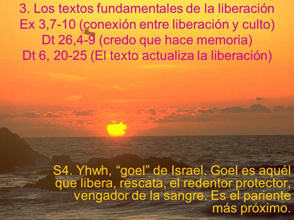 2.La liberación, obra de Yhwh Yo soy yhwh, tu Dios que te ha sacado del país de Egipto, de la condición de esclavo esclavo Ex 20,2