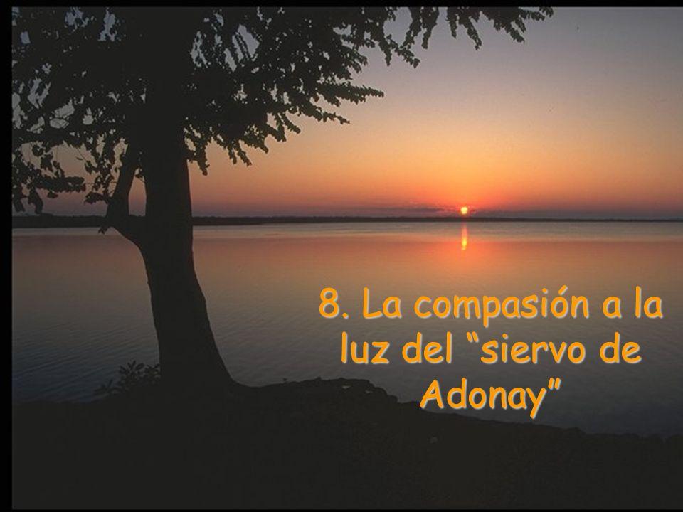 8. La compasión a la luz del siervo de Adonay