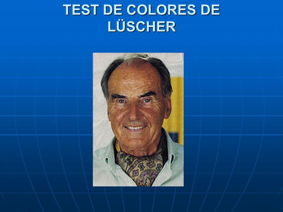 TEST DE COLORES DE LÜSCHER