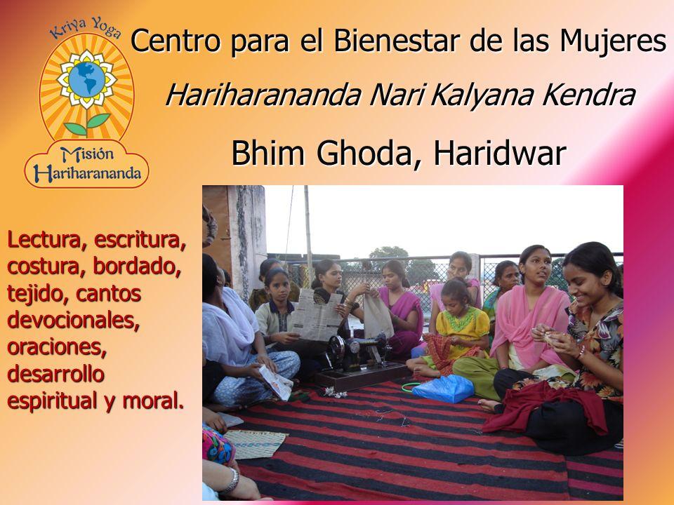 Lectura, escritura, costura, bordado, tejido, cantos devocionales, oraciones, desarrollo espiritual y moral. Centro para el Bienestar de las Mujeres H