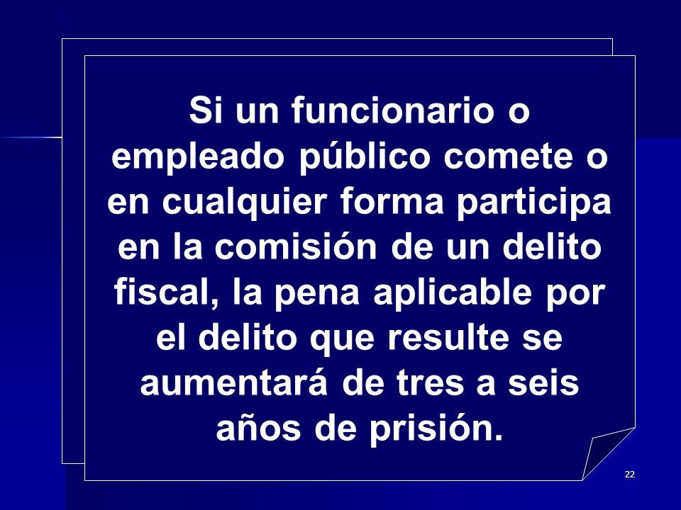 21 Son responsables de los delitos fiscales, quienes: Concierten la realización del delito.