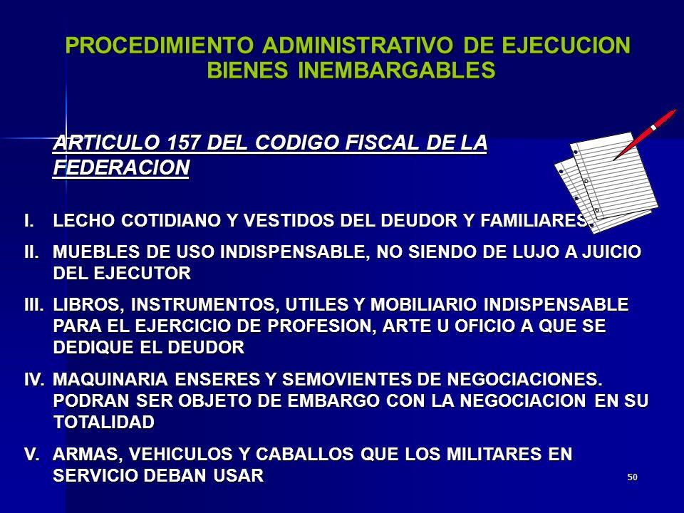 49 PROCEDIMIENTO DEL EMBARGO DE DEPOSITOS BANCARIOS (156-BIS) OFICIO AL GERENTE DE LA SUCURSALOFICIO AL GERENTE DE LA SUCURSAL LA INSTITUCION INFORMARA DE LOS INCREMENTOS POR INTERESESLA INSTITUCION INFORMARA DE LOS INCREMENTOS POR INTERESES SE PODRAN OFRECER OTRAS GARANTIASSE PODRAN OFRECER OTRAS GARANTIAS