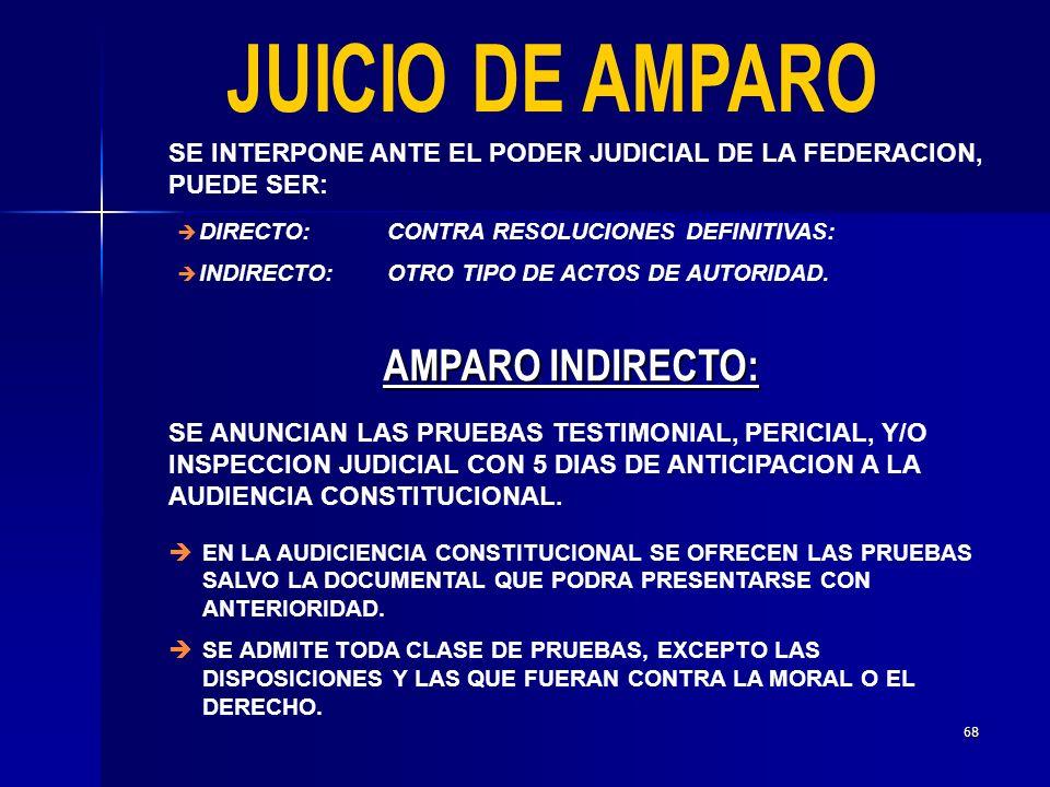 67 LA ILEGALIDAD DE UN ACTO DE AUTORIDAD SE IMPUGNA ANTE EL TRIBUNAL FEDERAL DE JUSTICIA FISCAL Y ADMINISTRATIVA.