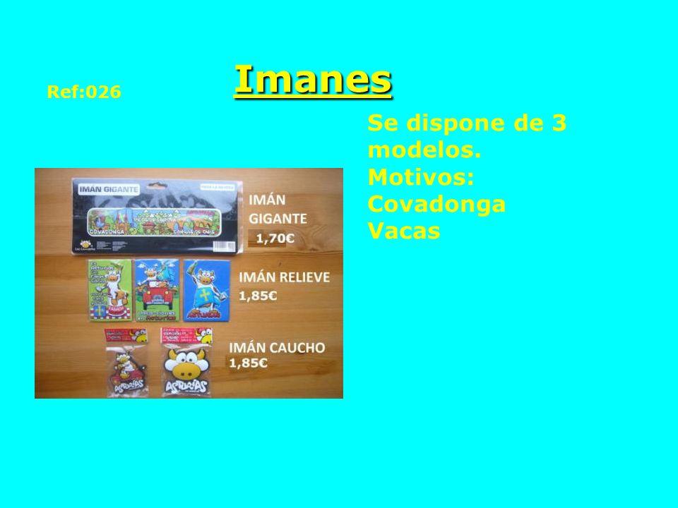 Imanes Ref:026 Se dispone de 3 modelos. Motivos: Covadonga Vacas