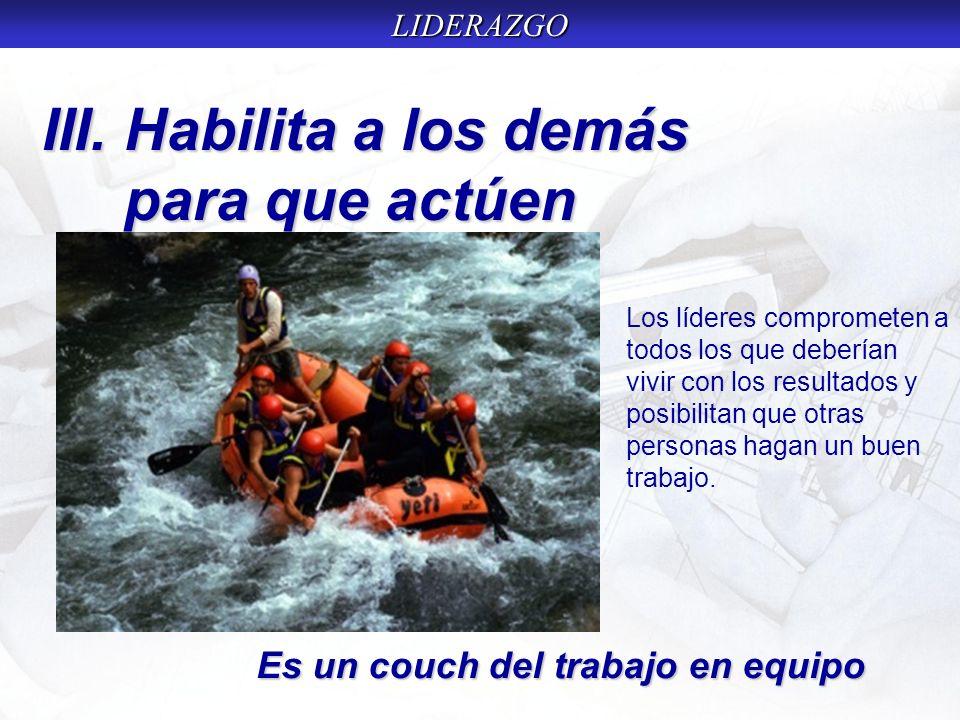 LIDERAZGO Industria: No perder tiempo, estar ocupad en algo útil; suprimir las actividades innecesarias.