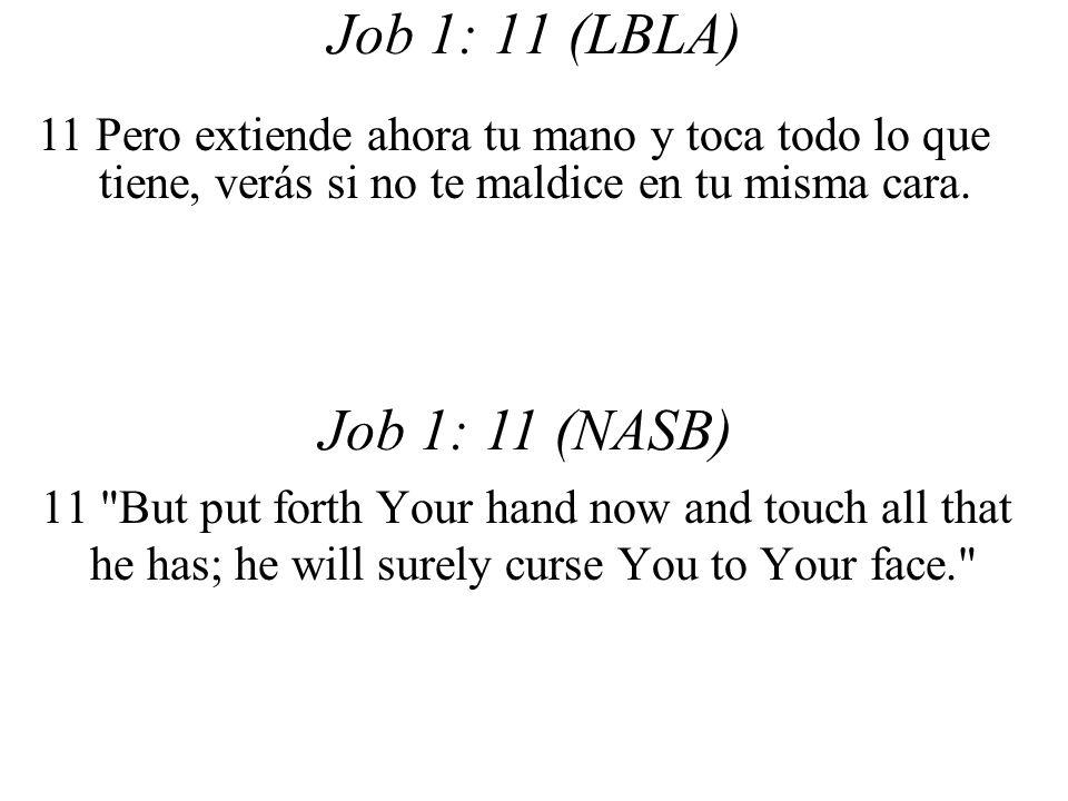 Job 1: 11 (LBLA) 11