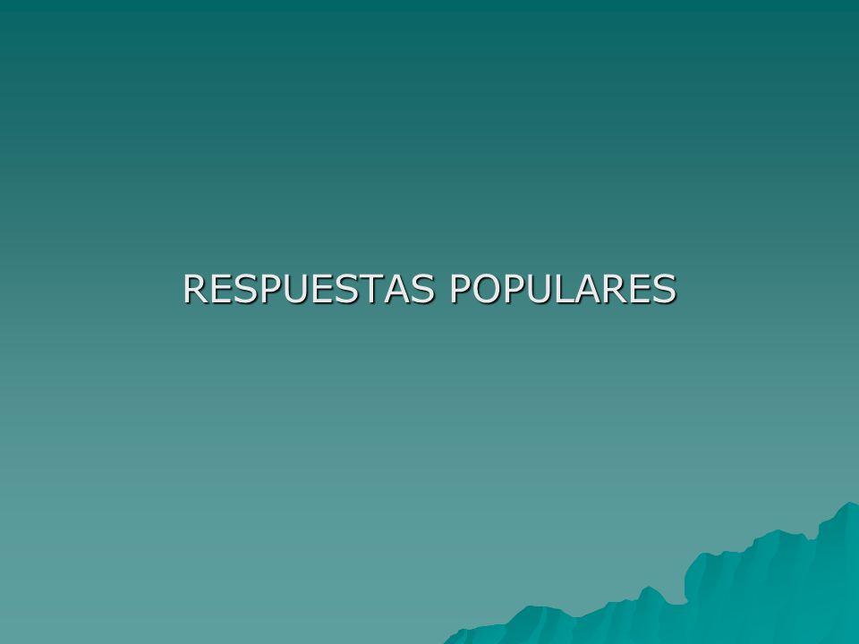 RESPUESTAS POPULARES