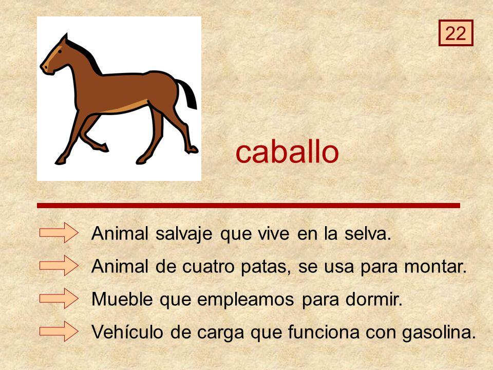 caballo Vehículo de carga que funciona con gasolina.