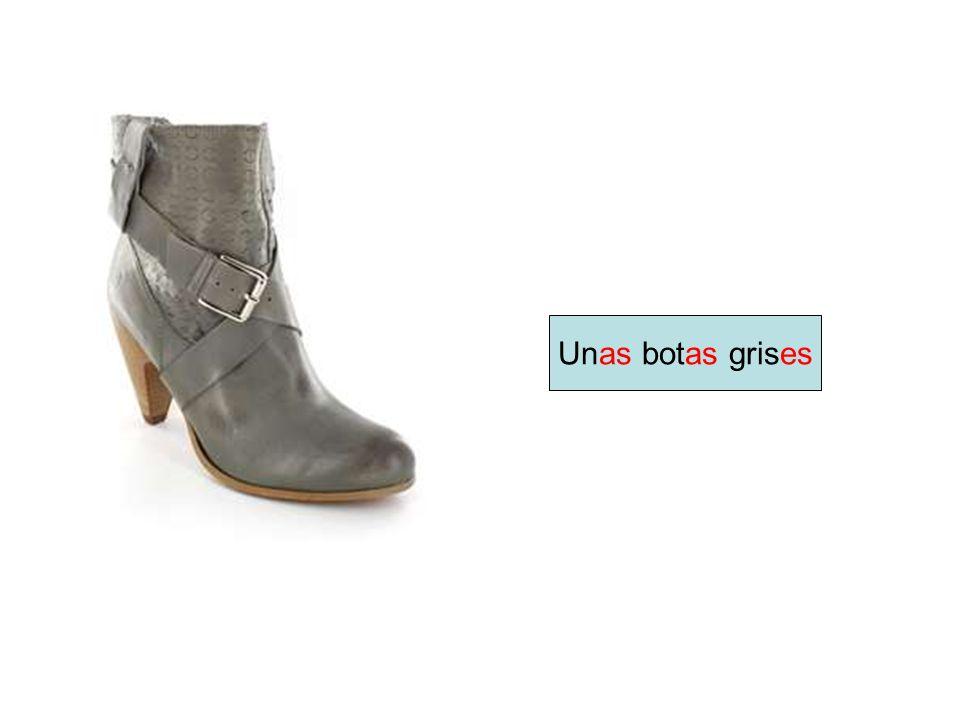 Unas botas grises