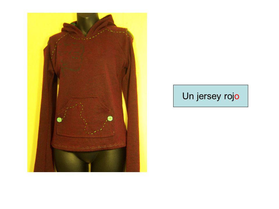 Un jersey rojo
