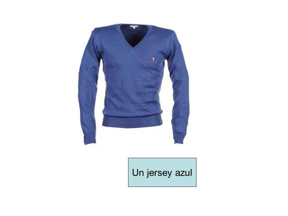 Un jersey azul