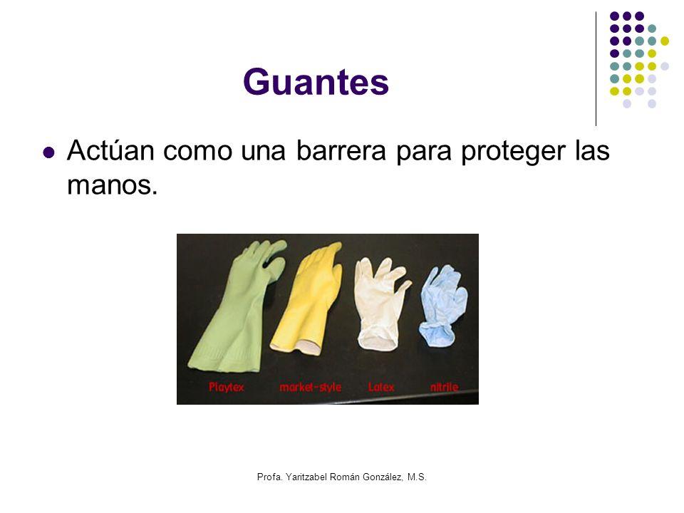 Profa. Yaritzabel Román González, M.S. Probetas Instrumento para medir volúmenes de líquidos.