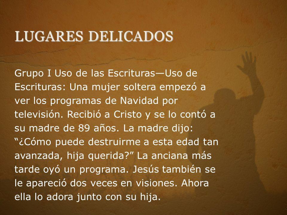Grupo I Uso de las EscriturasUso de Escrituras: Una mujer soltera empezó a ver los programas de Navidad por televisión.