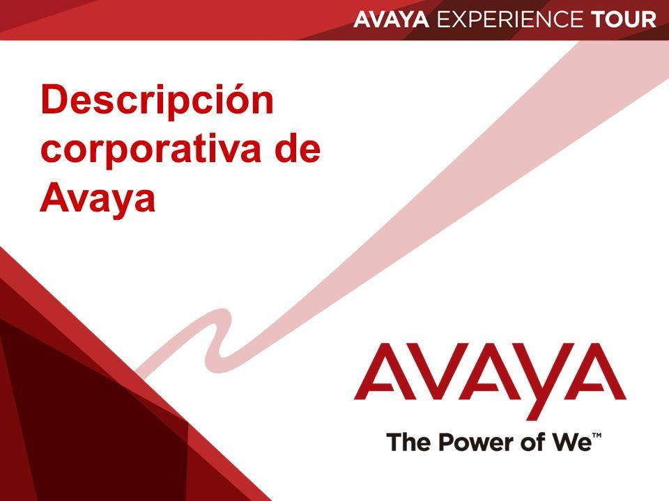 Descripción corporativa de Avaya