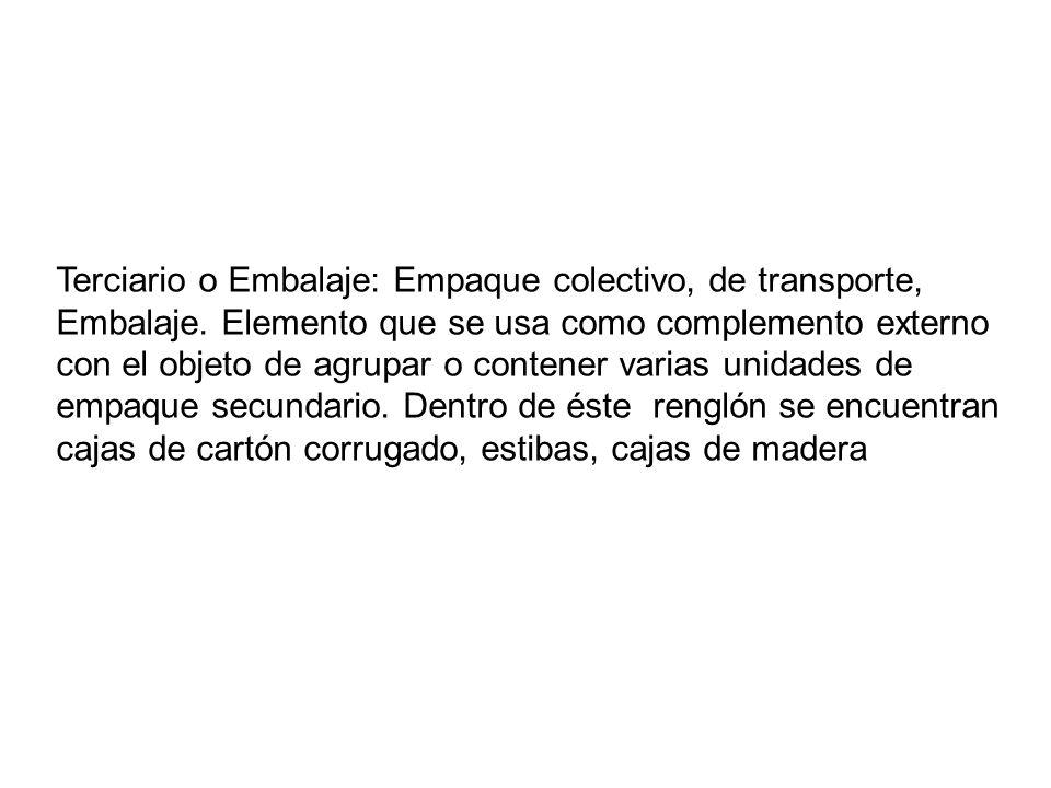 NORMALIZACION Y ESPECIFICACIONES CON LAS QUE DEBEN CUMPLIR LOS EMBALAJES DE TRANSPORTE MARCADO Y ROTULADO MARCADO DE EXPEDICION Se refiere a los datos necesarios para la entrega del embalaje a su destino.