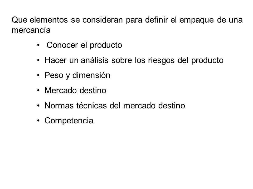 NORMAS INTERNACIONALES EMBALAJE DE MADERA UTILIZADO EN EL COMERCIO INTERNACIONAL - NIMF 15 MARCAS PARA LAS MEDIDAS APROBADAS La marca deberá incluir al menos: - el símbolo - el código de dos letras del país según la ISO, seguido de un número especial que la ONPF asigne al productor del embalaje de madera.