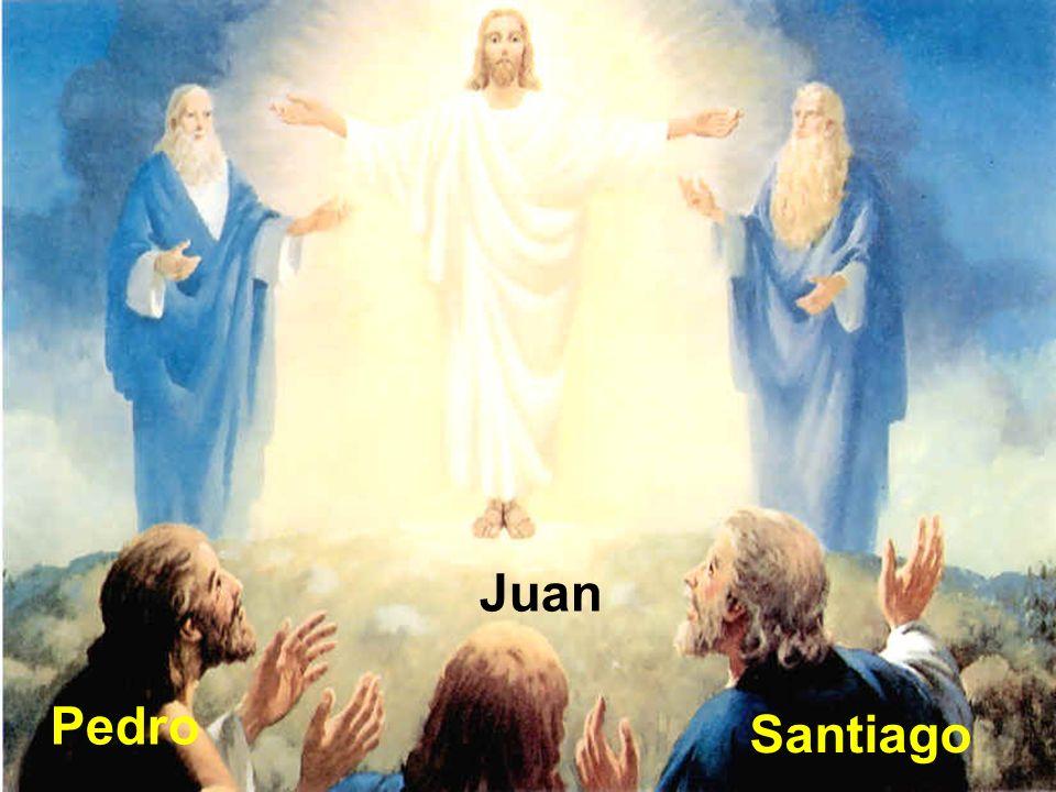 ¿Quién está con Jesús o a quiénes eligió para que estuvieran con él? Pedro Juan Santiago