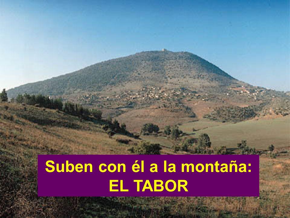 Suben con él a la montaña: EL TABOR