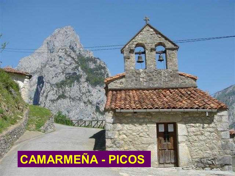 En la montaña se siente de una manera especial la presencia de Dios POR ESO SIEMPRE SE HICIERON CAPILLAS CAMARMEÑA - PICOS