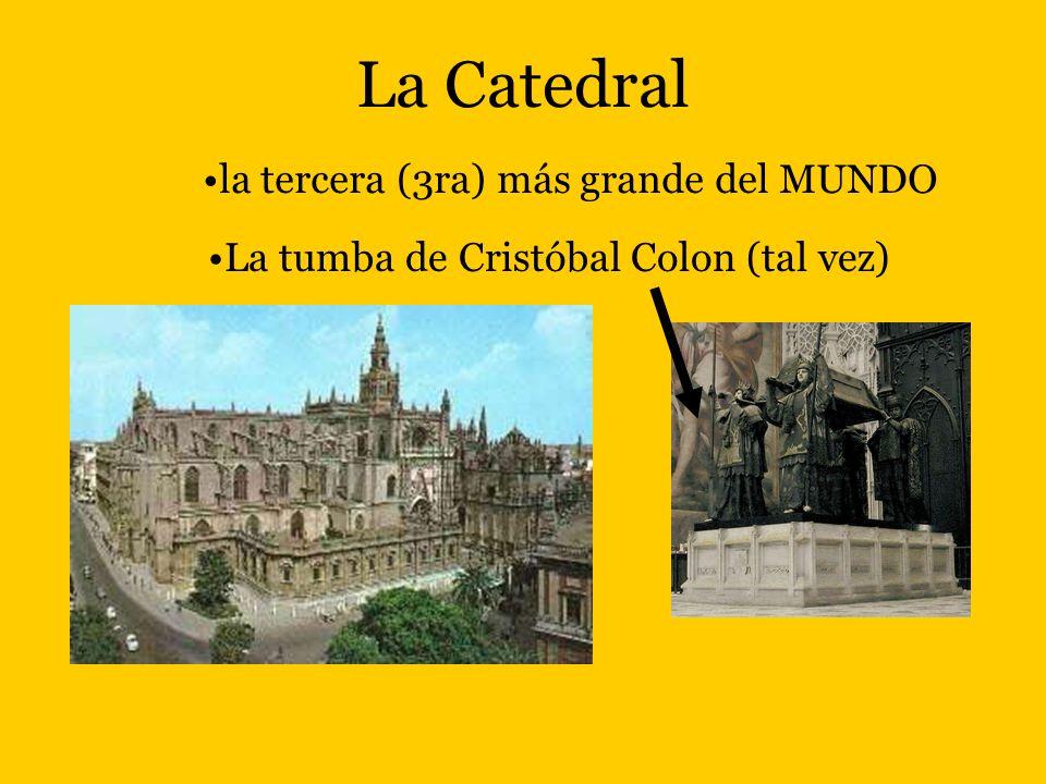 La Catedral La tumba de Cristóbal Colon (tal vez) la tercera (3ra) más grande del MUNDO