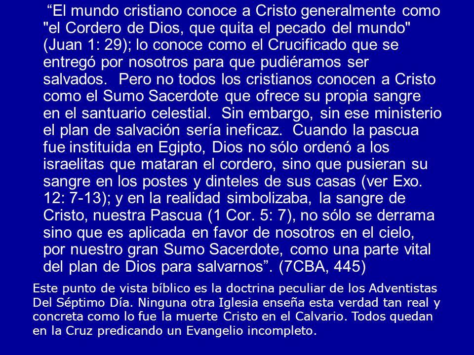 El mundo cristiano conoce a Cristo generalmente como