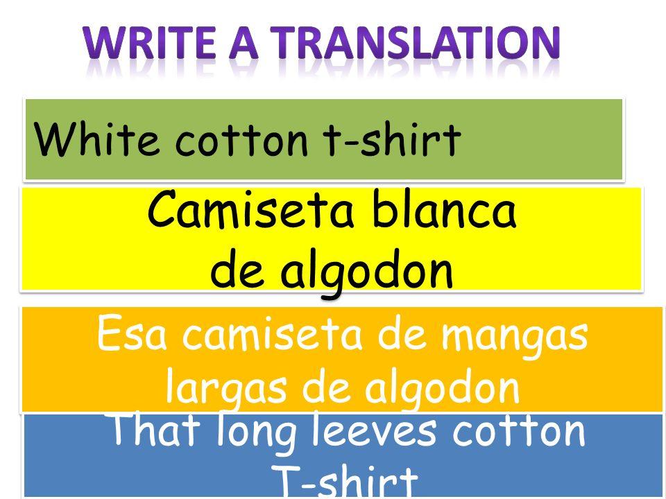 White cotton t-shirt Camiseta blanca de algodon Camiseta blanca de algodon Esa camiseta de mangas largas de algodon That long leeves cotton T-shirt Th