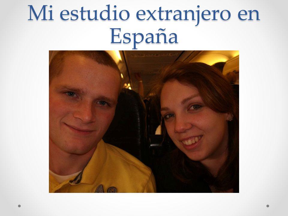 Mi estudio extranjero en España