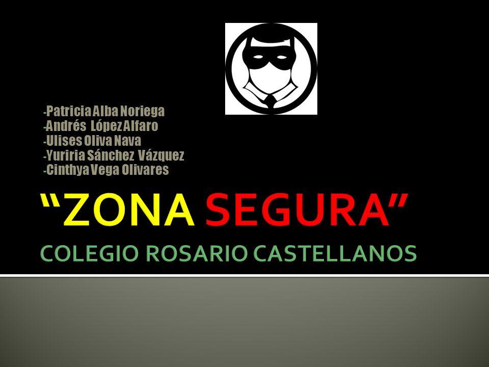 - Patricia Alba Noriega - Andrés López Alfaro - Ulises Oliva Nava - Yuriria Sánchez Vázquez - Cinthya Vega Olivares