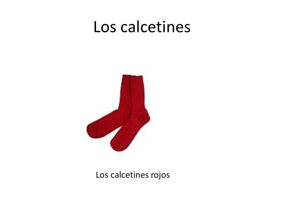 Los calcetines Los calcetines rojos