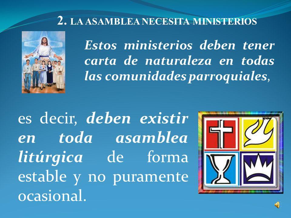 Al servicio del altar y del ministro ordenado. - El ac ó lito no instituido (SC 29; OGMR 66). - El ministro extraordinario de la comuni ó n (OGMR 68).