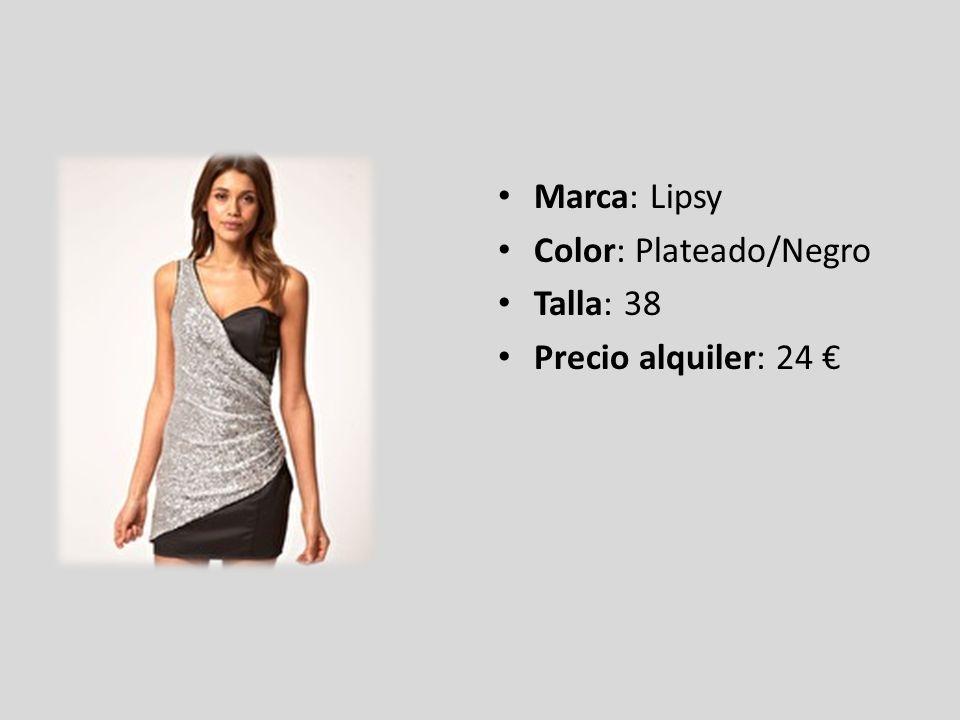 Marca: ASOS Color: Blanco Talla: 42/44 Precio alquiler: 18,2