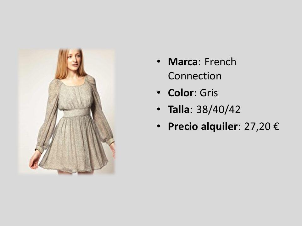 Marca: ASOS Petite Color: Berry Talla: 42/44 Precio alquiler: 10