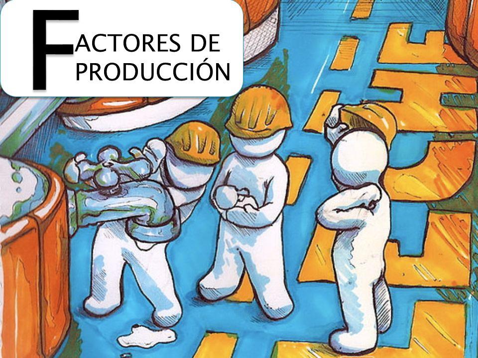 ACTORES DE PRODUCCIÓN