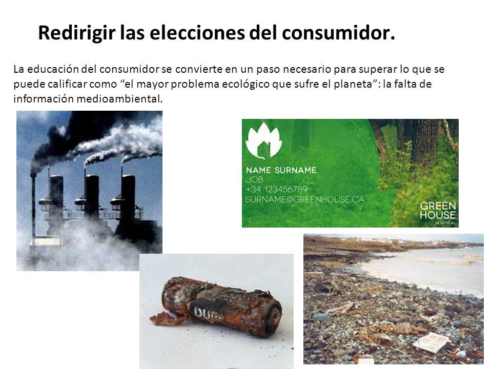 Se busca la consecución o integralidad de los objetivos económicos de cada variable de marketing con los objetivos ecológicos Reorientar el marketing mix.
