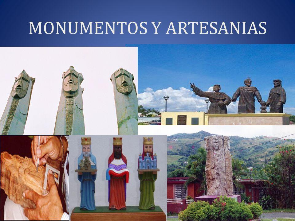 MONUMENTOS Y ARTESANIAS