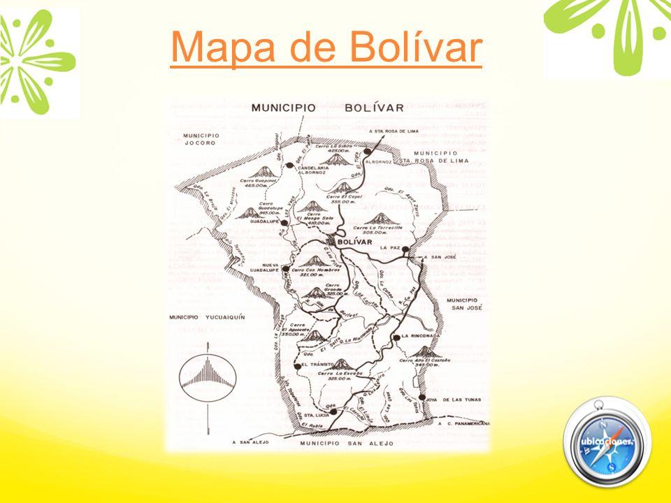 Mapa de Bolívar