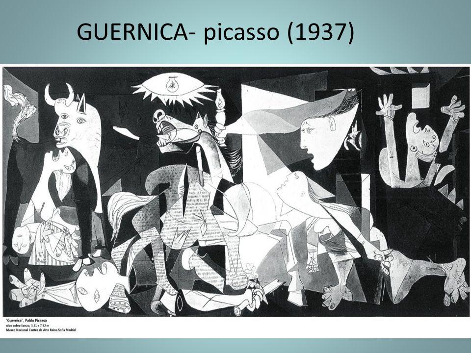 GUERNICA- picasso (1937)