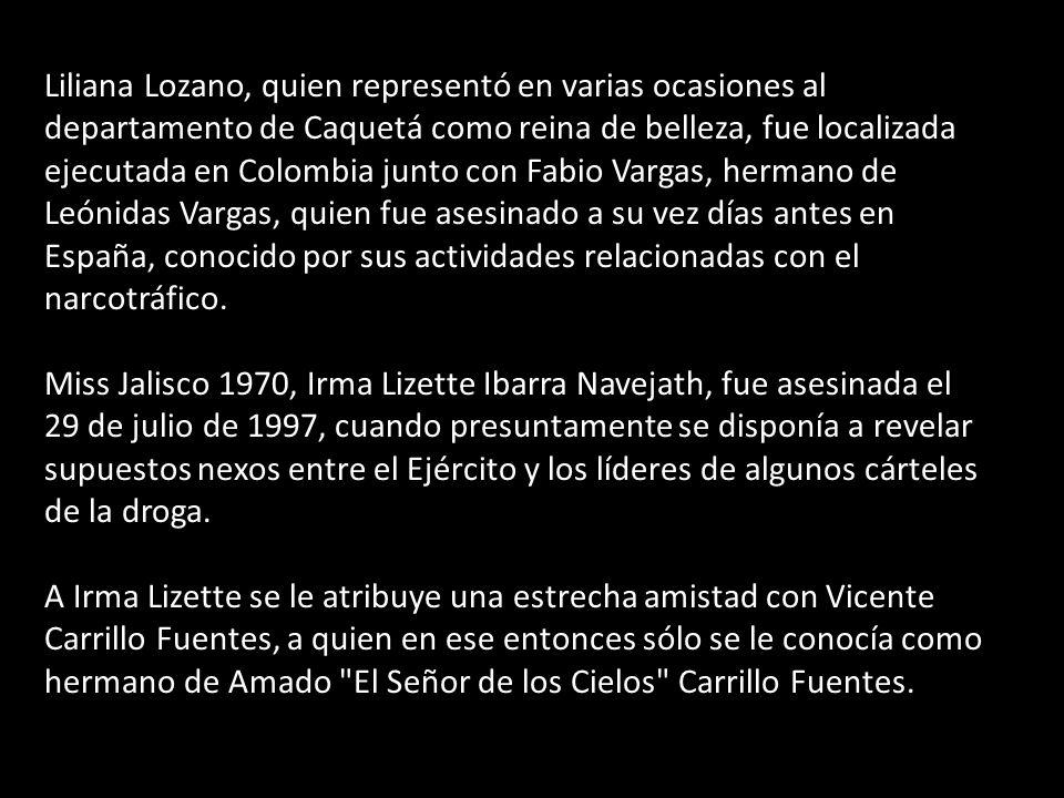 Liliana Lozano, quien representó en varias ocasiones al departamento de Caquetá como reina de belleza, fue localizada ejecutada en Colombia junto con