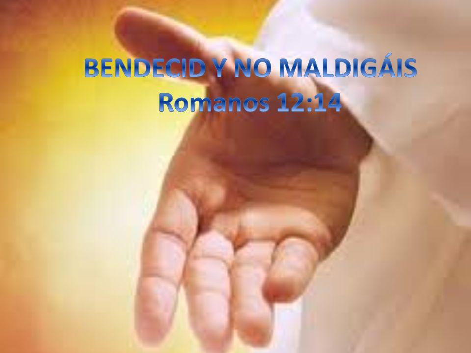 Podemos bendecir a: -Nuestros vecinos: Declarando que sean salvos, prosperados, restaurados, etc.