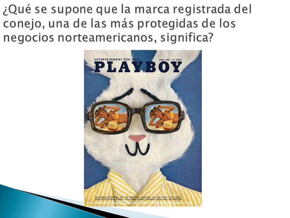 ¿Qué se supone que la marca registrada del conejo, una de las más protegidas de los negocios norteamericanos, significa? http://www.foro-cualquiera.co