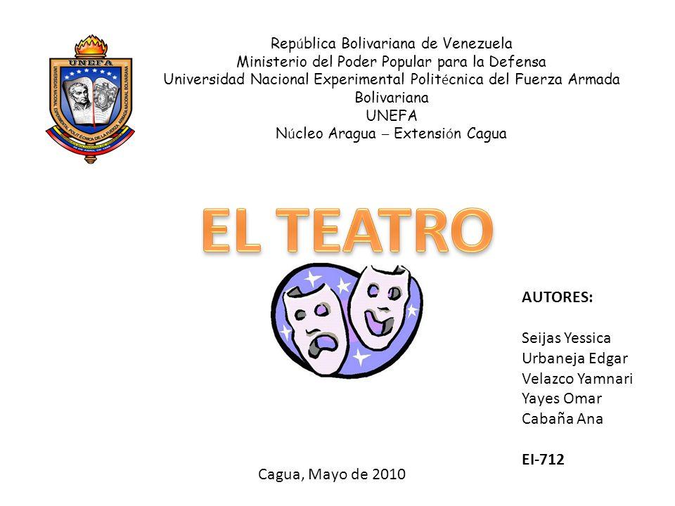 Rep ú blica Bolivariana de Venezuela Ministerio del Poder Popular para la Defensa Universidad Nacional Experimental Polit é cnica del Fuerza Armada Bo