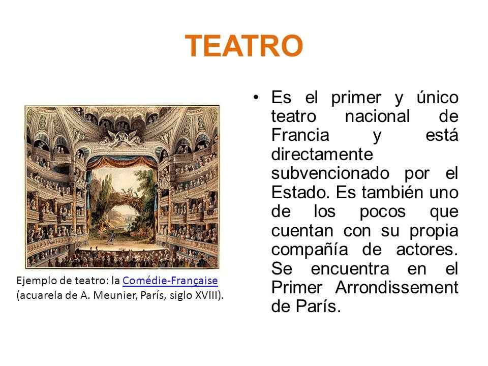 GÉNEROS TEATRALES Teatro Musical * Ópera * Zarzuela