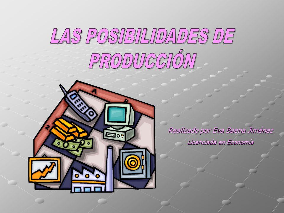 Realizado por Eva Baena Jiménez Licenciada en Economía