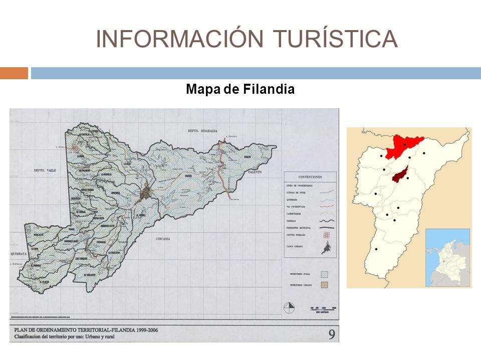 Mapa de Filandia